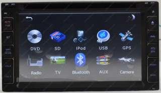 Double 2 Din car dvd player universal car dvd gps navigation radio