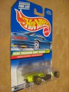 New Hot Wheels TREASURE HUNT Series 1999 RIGOR MOTOR Awesome!! Nip 4