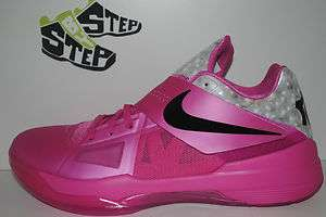NEW Mens Nike Zoom KD IV Aunt Pearl 4 Size 12 and 14 DS Think Pink