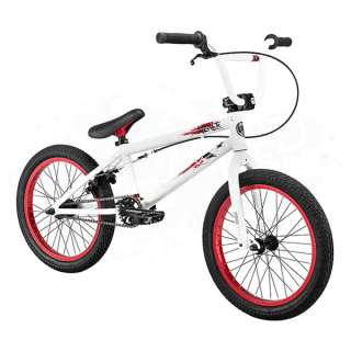 Kicker Complete BMX Bike Bicycle   18 Inch   Gloss Ghost White