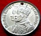 CORONATION SOUVENIR 1911 George V & Queen Mary Copper Medal