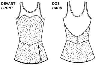 Jalie Figure Skating Dress Pattern   Misses & Girls sz