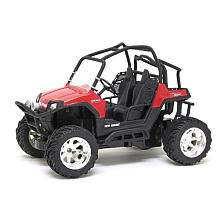 New Bright 114 Scale Radio Control Polaris ATV   Red 49 MHz   New