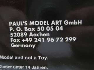 Minichamps/Pauls Model Art (China) Red Porsche 911 Coupe 1964 Diecast