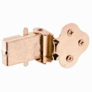 Prime Line Brass Plated Double Hung Window Flip Latch U 9926 at The