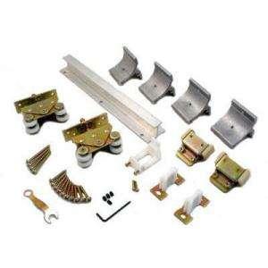 Johnson hardware 1700 24 bi fold door track hardware set for 1700 series folding door instructions