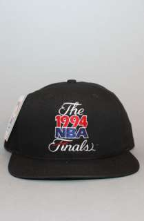 Vintage Deadstock The Starter NBA Finals Snapback Hat  Karmaloop