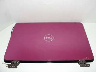 DELL INSPIRON 14R N4010 LCD BACK COVER LID & HINGES PINK (GR21X) [A
