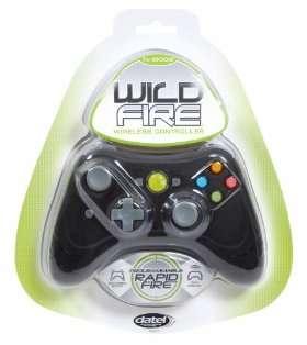 Xbox360 Wireless Wildfire Controller (Black) with Turbo RapidFire