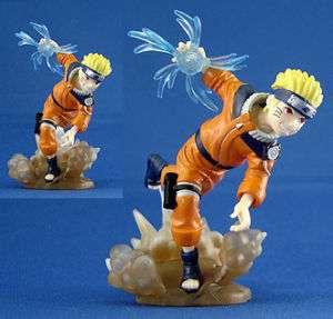 Naruto Uzumaki Ninja Anime Konoha Gashapon Figure 0482A