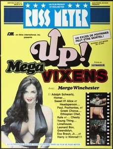 VIXENS poster KITTEN NATIVIDAD/RUSS MEYER original large SEXPLOITATION