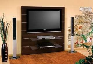 06 TV Wand für LED/LCD/Plasma Geräte in Eiche oder Wenge
