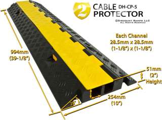 NEW SNAKE CABLE COVER WIRE PROTECTOR RAMP BOARD 6 TON (DH CP 5