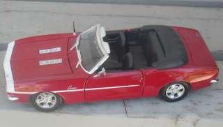 24 Scratch & Dent 1968 Chevrolet Camaro SS396 Red