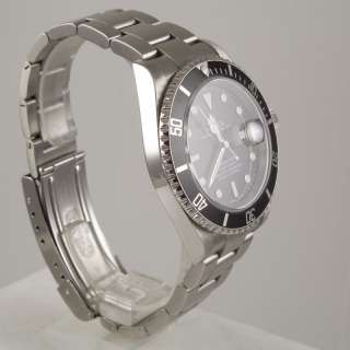 Rolex Oyster Perpetual Date Submariner  Stainless Steel  Black Dial