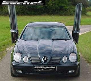 Spoiler Heck Stoßstange AMG Look Mercedes CLK w208 10