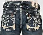 Mens Laguna Beach Jeans Balboa Bootcut Distressed 31 32 33 34 36 38 40