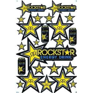 Rockstar Energy Drink Supercross Motocross / Aufkleberset