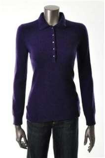 Lauren Ralph Lauren NEW Pullover Sweater Purple Cashmere Sale Misses S