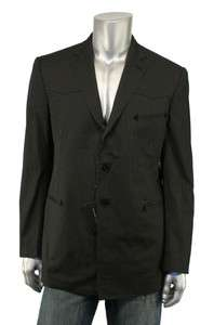 Ralph Lauren Black Label Western Blazer Jacket 42 S New $1395