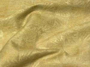Gold Ivory Indoor Outdoor RV Boat Upholstery Fabric