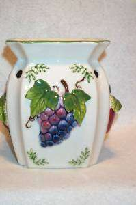CERAMIC SIMMER POT TART BURNER IN FRUITS DESIGN NEW