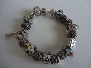 European Style Charm Bracelet and Pandora Catalog. Charm LOVE, HOPE
