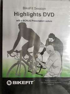 BikeFit Session Highlights DVD Visual Bicycle Fitting Bike Fit Systems