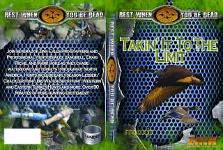 ZINK CALLS TAKIN IT TO THE LIMIT VIDEO DVD DUCK GOOSE