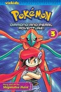 Pokemon Diamond and Pearl Vol. 3 Manga Comic Book