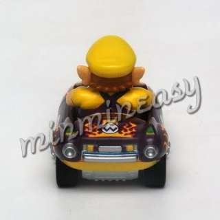 Japan Nintendo Super Mario Kart Car Figure   Wario ^