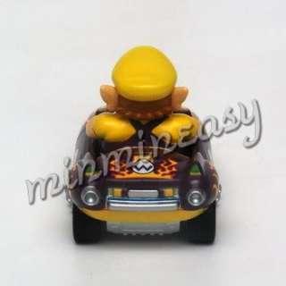 Japan Ninendo Super Mario Kar Car Figure   Wario ^ |