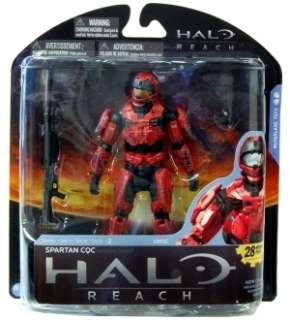 Halo Reach 2 Figure Red Spartan CQC Custom Male Brick