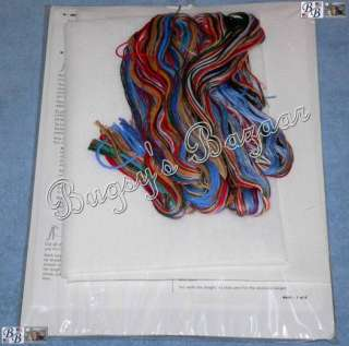 CHECKING HIS LIST Counted Cross Stitch Christmas Stocking Kit