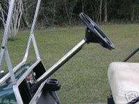 CLUB CAR Golf Cart Steering Column Cover STAINLESS