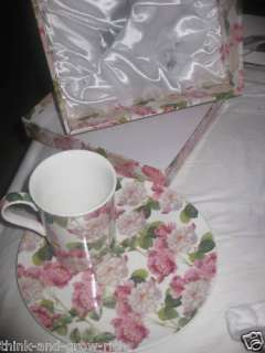THE LEONARDO COLLECTION FINE BONE CHINA CUP &SAUCER SET