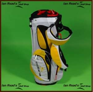 Cobra DB 11 Carry Stand Golf Bag White/Black/Yellow New