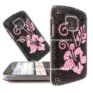 FOR NOKIA E5 BLING DIAMOND CRYSTAL CASE DIAMANTE COVER