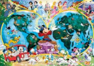 DISNEY WORLD MAP CLASSICS 1000 PIECE JIGSAW PUZZLE GIFT 4005556157853