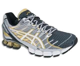 ASICS Mens Gel Kinsei 4 Shoes BlackWhiteGold (T139N 9001)