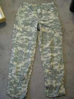 US ARMY ACU Digi Camo Combat PANTS/TROUSERS Ripstop M R