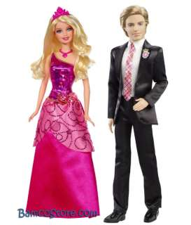 Barbie Princess Charm School Prince Nicholas Blair Doll
