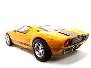 FORD GT CONCEPT YELLOW 112 DIECAST MODEL