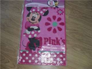 BNWT CHARACTER PRINTED RUG / MAT DISNEY MINNIE MOUSE