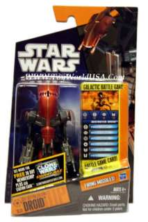 2011 Star Wars Saga Legends SL31 Destroyer Droid
