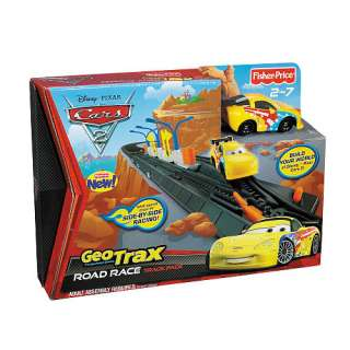 Fisher Price GeoTrax Disney Pixar Cars 2 Track Pack   Road Race   FAO