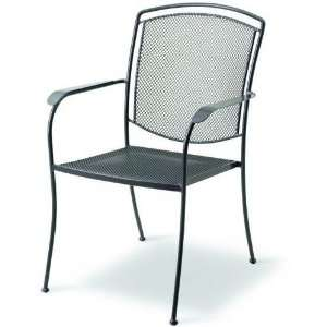 Kettler Classic Wrought Iron High Back Chair Home