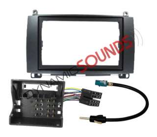 double din fascia, ISO Wiring Harness, and aerial connections