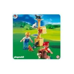 Playmobil Cat Scratch Tree Play Set Toys & Games