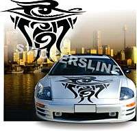 Adesivi auto tuning car stickers Fiamma 4 eye cofano
